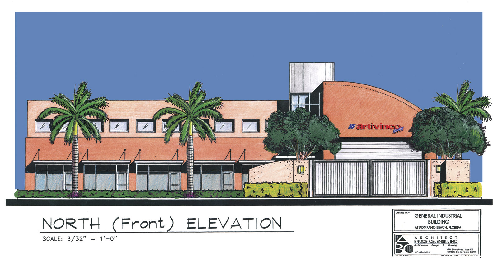 fort lauderdale commercial architect racing