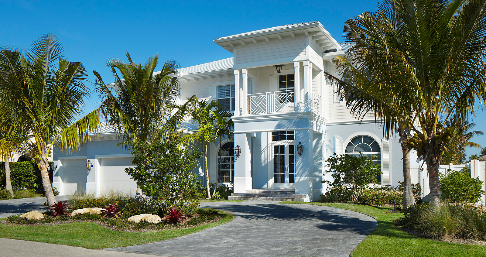 Luxury west indies style home Architect florida