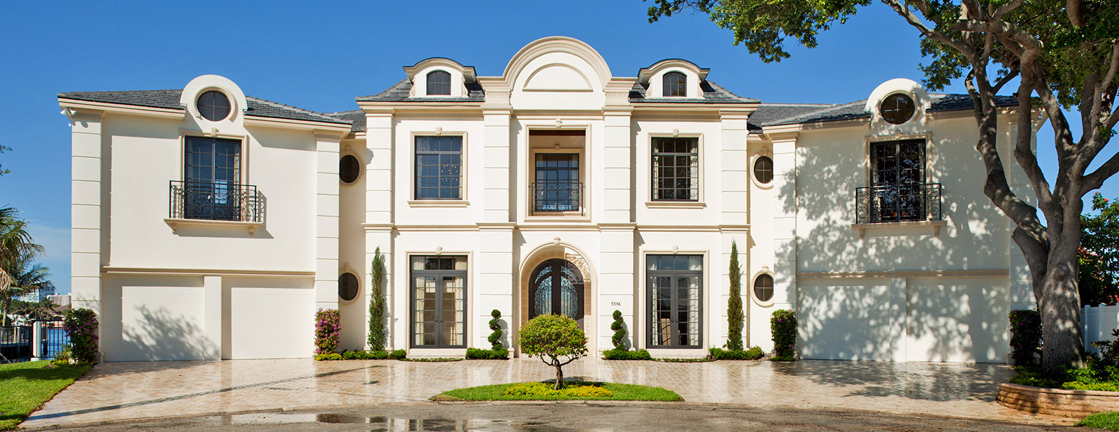Fort Lauderdale French chateau architecture design
